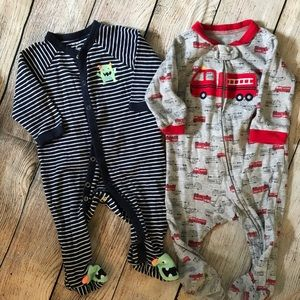 Carters cotton PJs
